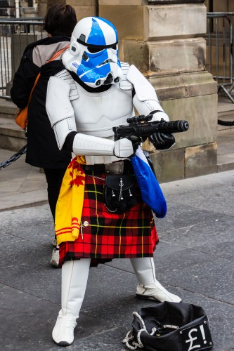 Kilted Trooper