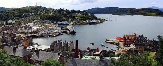 Oban Bay, Argyll